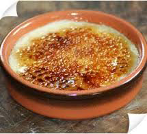 CREME BRULEE AUX GINGEMBRES CONFITS